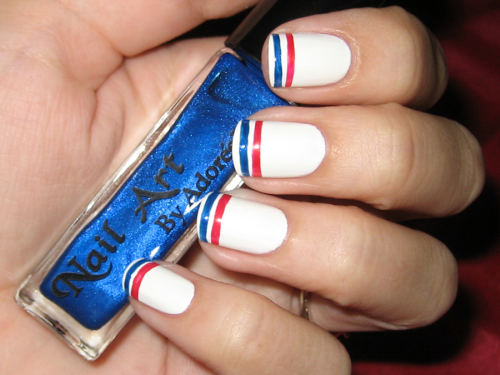 Simple July 4th Nail Designs