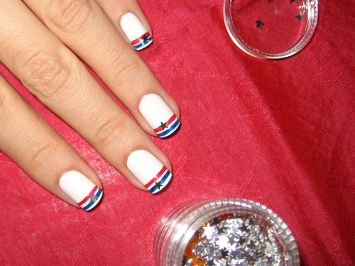 Simple july 4th nail designs july 4th simple nail designs prinsesfo Choice Image