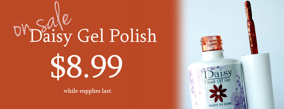 Daisy Gel Polish Sale