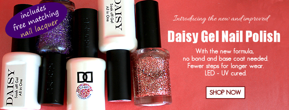 New Daisy Gel Soak Off Polish