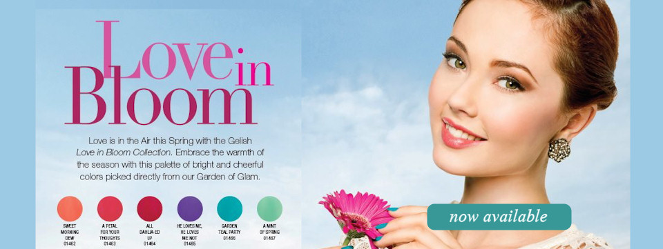 New Gelish Love in Bloom Collection