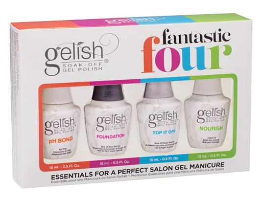Gelish Harmony 18g Pro Led Nail Polish Curing Lamp And Fantastic Four Kit Gelish Us01379 01787 Gel Nails Led Nail Lamp Gel