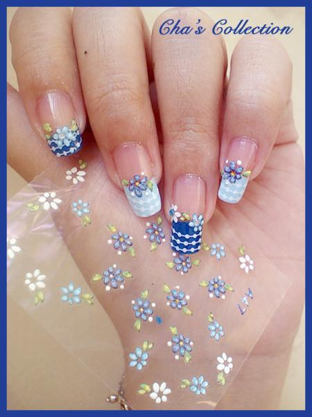 Nail Art Designs With Sticker