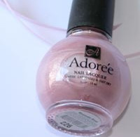 Prom frost pastel pink polish