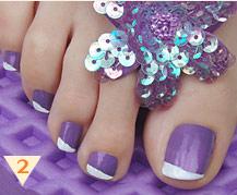 Summer Nail Art Design Flip Flop Designs